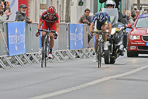 Greg Van Avermaet - Van Avermaet took his first classic victory at the 2011 Paris–Tours, after a two-man sprint with Italian Marco Marcato.