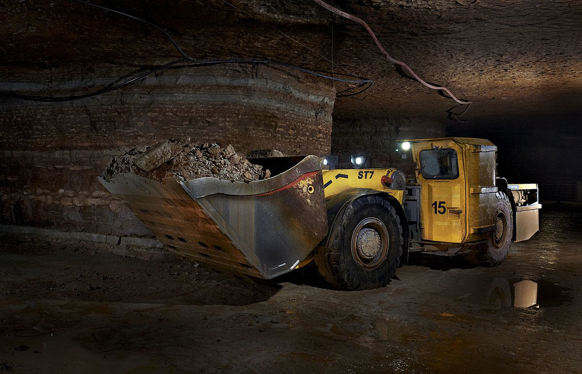 Underground mining (soft rock) - Wikipedia Underground Mining Images