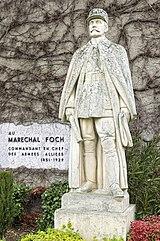 Valentine (Haute-Garonne)- La Statue du Maréchal Ferdinand Foch par Firmin Michelet.jpg