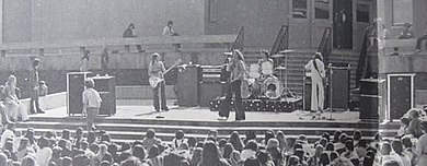 Van Halen performing at La Canada High School in 1975. Van halen at La Canada High School 1976.jpg