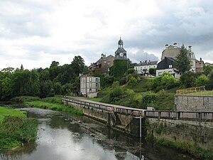 Varennes-en-Argonne - Tower Louis XVI and the river Aire