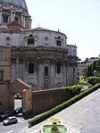 Vatican City - Via del Governatorato merges with Via del Fondamento.jpg