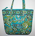 Paisley Handbag Associated With The Boho Chic Look