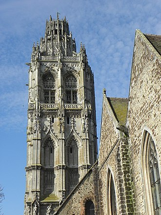 Verneuil-sur-Avre - Tower of St Mary Magdalene Church