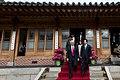 Vice President Mike Pence & Acting Republic of Korea President Hwang Kyo-ahn, April 17, 2017.jpg
