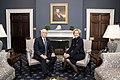Vice President Pence meets with the White House Coronavirus Response Coordinator (49615654717).jpg