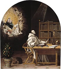 The Vision of Dionisio Rickel The Carthusian