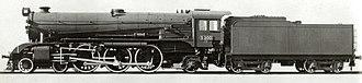 4-6-2 - Victorian Railways S class