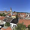 View from Seminární zahrada, Český Krumlov, Czechia.jpg
