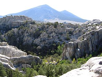 City of Rocks National Reserve - View from within the City of Rocks