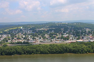 Northumberland, Pennsylvania - View of Northumberland
