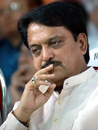 Minister of Science and Technology (India) - Image: Vilasrao deshmukh 3
