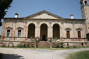 Villa Gazzotti Grimani - Image: Villa Gazzotti 2007 07 18 3