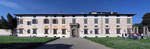 Niccolò Tribolo - Exterior of the Villa di Castello in Florence.