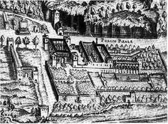 Poggio Reale (villa) - Villa Poggio Reale, c. 1670.