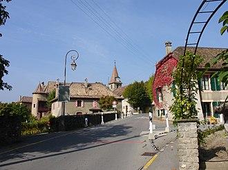 Allaman - Allaman village