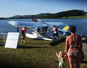 Lac de Villefranche-de-Panat - Image: Villefranche Lac 0719