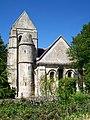 Villeneuve-sur-Verberie (60), hameau de Noël-Saint-Martin, façade est de l'église.jpg