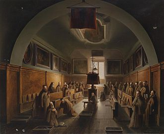 Vincenzo Abbati - Carthusian Monks in Padua