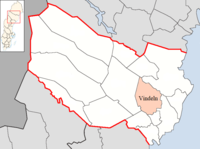 Vindeln Municipality in Västerbotten County.png