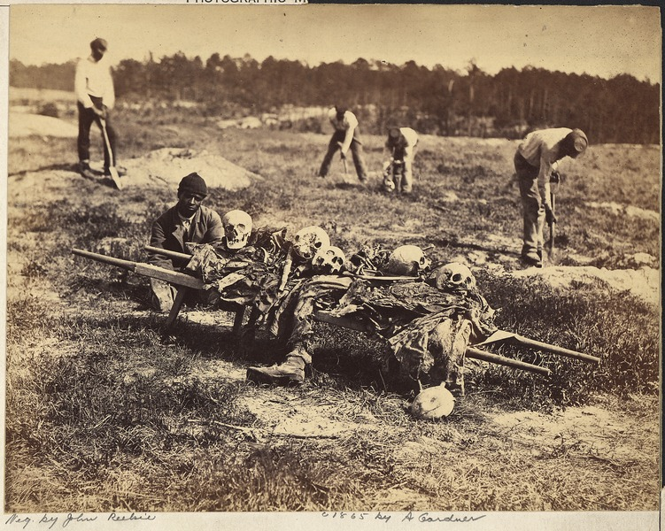 File:Virginia, Cold Harbor. A burial party on the Battlefield - NARA - 533367.tif
