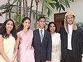 Vishtasp Kairshasp Choksy with family.jpg