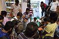 Visitors - Book Stall - 38th International Kolkata Book Fair - Milan Mela Complex - Kolkata 2014-02-09 8862.JPG