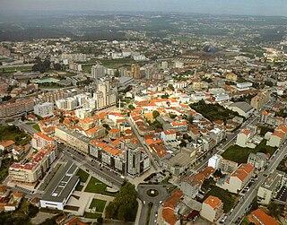 São João da Madeira Municipality in Norte, Portugal