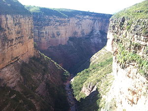 Charcas Province - Canyon of the Toro Toro National Park