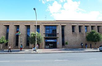 Volksblad - The Volksblad office at 79 Nelson Mandela Avenue, Bloemfontein.