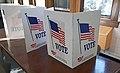 Voting carrels - 2019 Ohio general election (49155612877).jpg