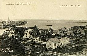 Carte postale de Matane