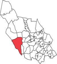 Malungs landskommune i Kobberbjerges amter