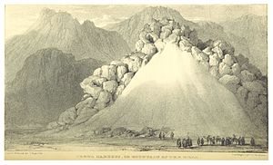 Mount Serbal - Southern Sinai Peninsula, Gebel Nakús or the Mountain of the Bell (1838)