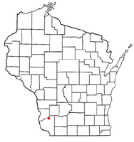 Location of Boscobel, Wisconsin