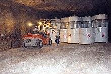 Składowanie odpadów promieniotwórczych w WIPP