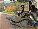 WLA metmuseum Camille Monet on a Garden Bench by Claude Monet.jpg