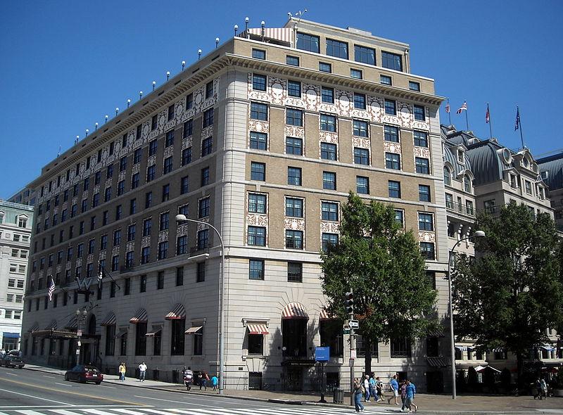 Starwood Hotels Washington Dc Area Newatvs Info
