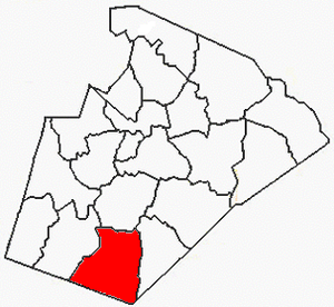 Middle Creek Township, Wake County, North Carolina - Image: Wake County NC Middle Creek Township