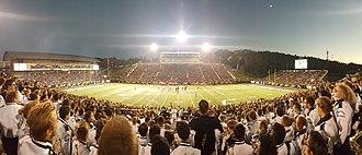 Waldo Stadium - Panorama of Waldo Stadium, October 8, 2016