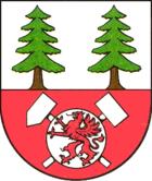 Das Wappen von Scheibenberg