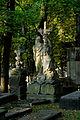 Warszawa Reduta Wolska - cmentarz prawosławny - pomnik nagrobny z 1889 roku.jpg