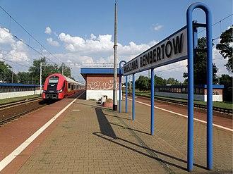 Rembertów - Image: Warszawa Rembertów railway station 2012 (3)