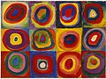 Wassily Kandinsky Color Study. Squares with Concentric Circles.jpg