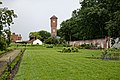 Water tower, Easton Lodge Gardens, Little Easton, Essex walled garden 1.jpg