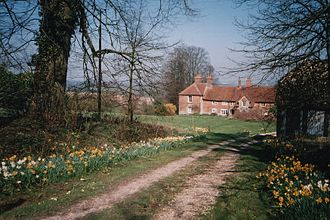 Watership Down - Nuthanger Farm, Hampshire, England, in 2004