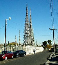 Watts Towers (construction started 1921)