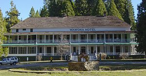 Wawona, California - The Wawona Hotel