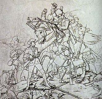 Banastre Tarleton - The Battle of Waxhaw Creek (29 May 1780), in Lancaster County, South Carolina