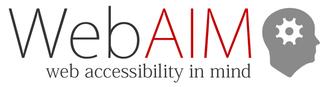 WebAIM - WebAIM logo